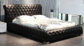 leather bed ,modern bed